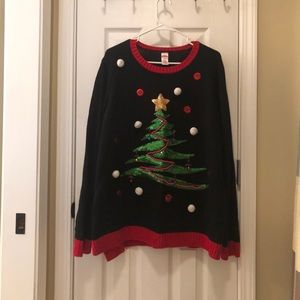Christmas sweater size 2x